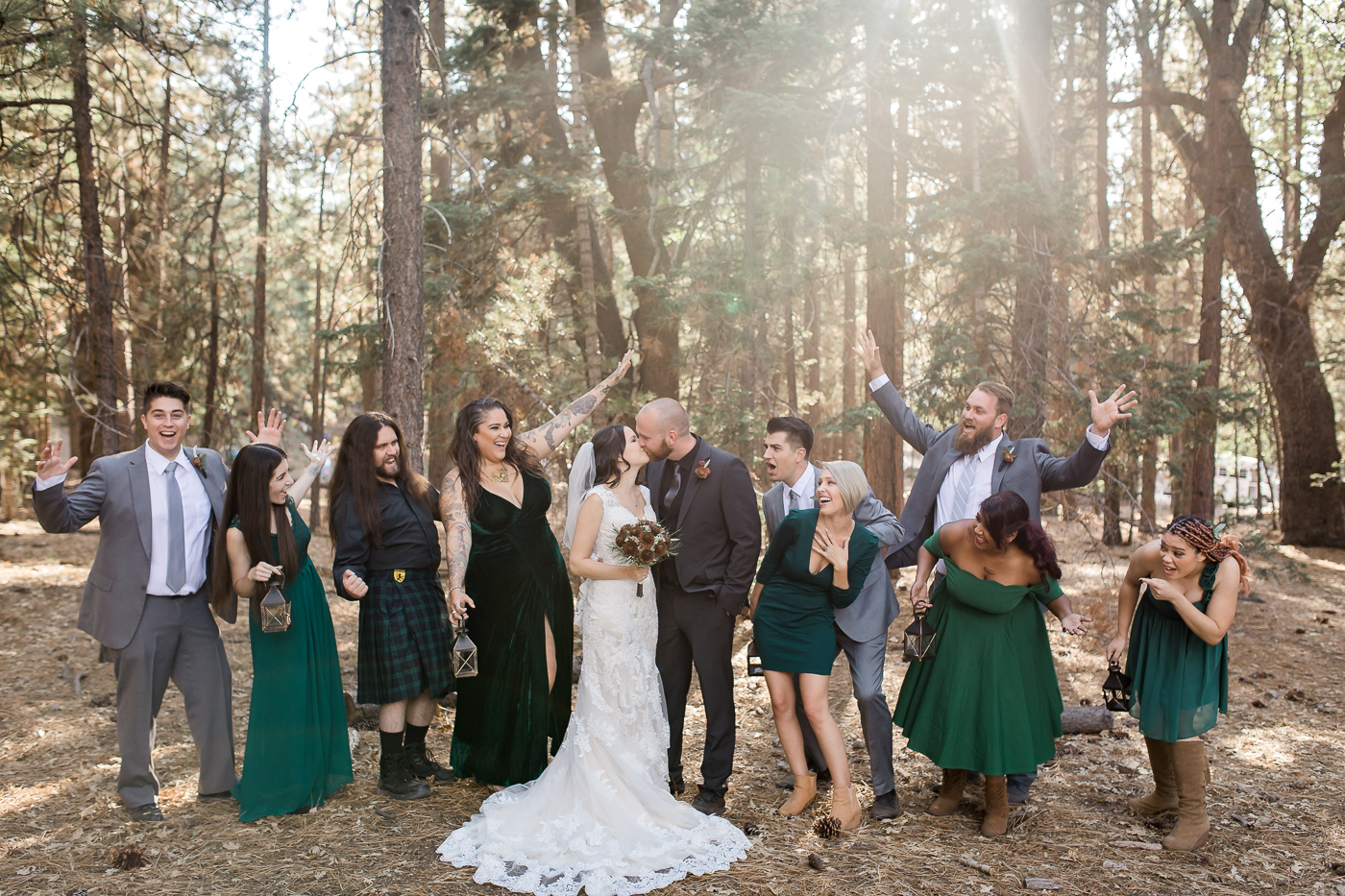 Woodys Bridal party portraits